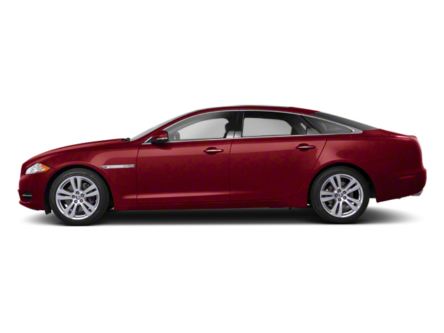 Claret 2012 Jaguar XJ Pictures XJ Sedan 4D photos side view
