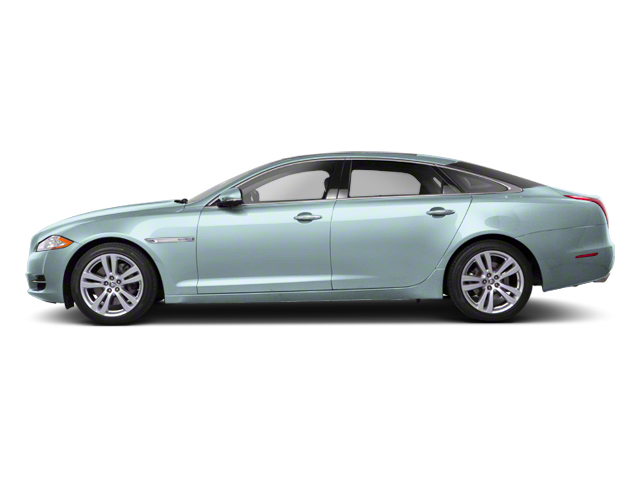 Crystal Blue 2012 Jaguar XJ Pictures XJ Sedan 4D L photos side view