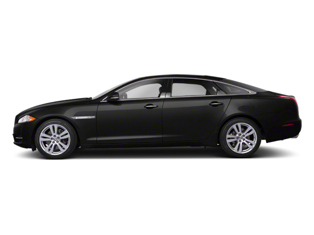 Ebony 2012 Jaguar XJ Pictures XJ Sedan 4D photos side view
