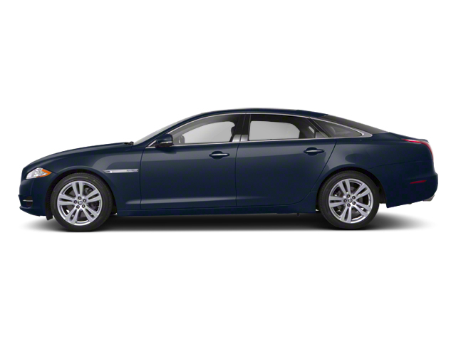 Indigo Blue 2012 Jaguar XJ Pictures XJ Sedan 4D photos side view