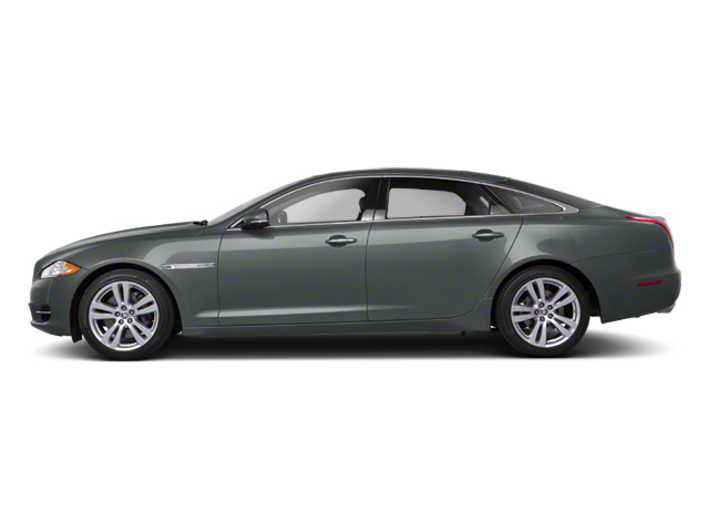 Lunar Grey 2012 Jaguar XJ Pictures XJ Sedan 4D photos side view