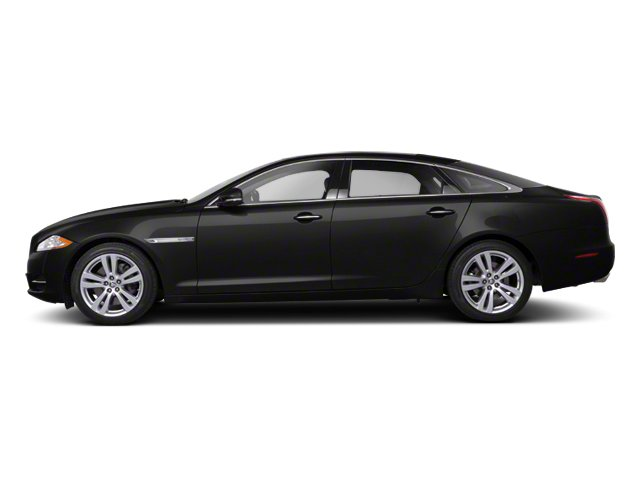 Midnight Black 2012 Jaguar XJ Pictures XJ Sedan 4D photos side view