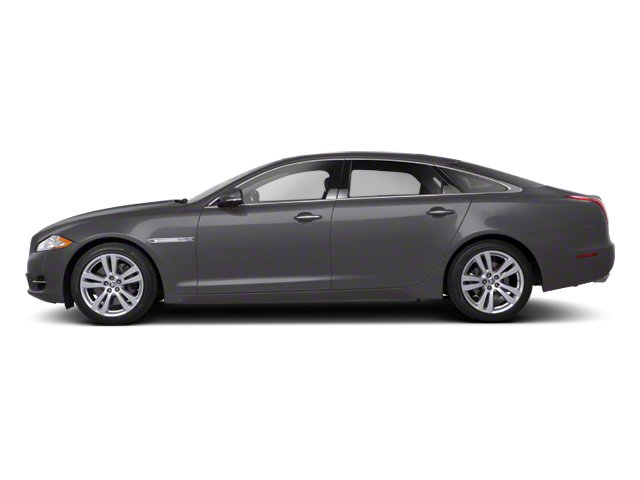 Pearl Grey 2012 Jaguar XJ Pictures XJ Sedan 4D photos side view