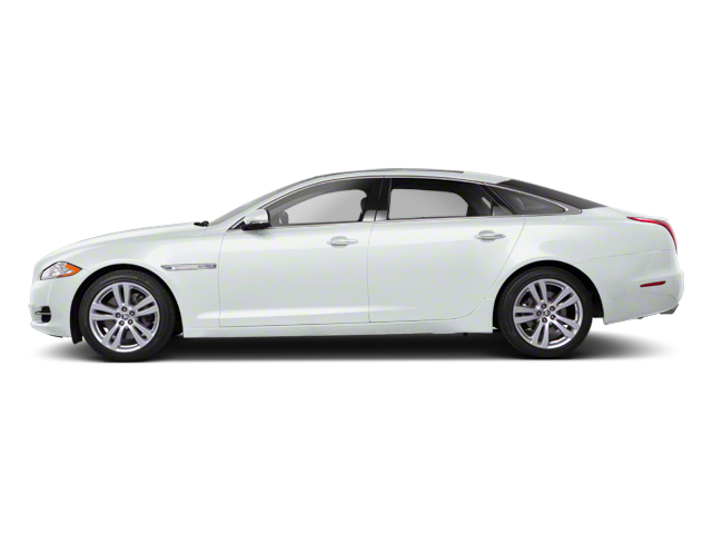 Polaris White 2012 Jaguar XJ Pictures XJ Sedan 4D photos side view