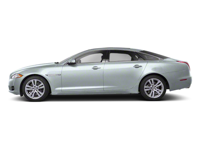Rhodium Silver 2012 Jaguar XJ Pictures XJ Sedan 4D photos side view