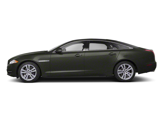 Taiga Green 2012 Jaguar XJ Pictures XJ Sedan 4D photos side view