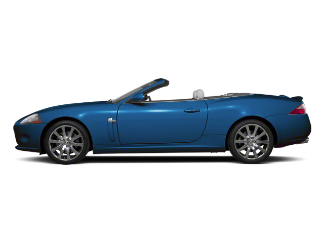 Crystal Blue 2012 Jaguar XK Pictures XK Convertible XKR Supercharged photos side view