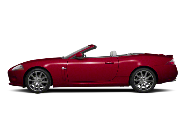Italian Racing Red 2012 Jaguar XK Pictures XK Convertible XKR Supercharged photos side view