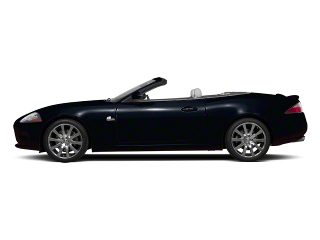 Midnight Black 2012 Jaguar XK Pictures XK Convertible XKR Supercharged photos side view