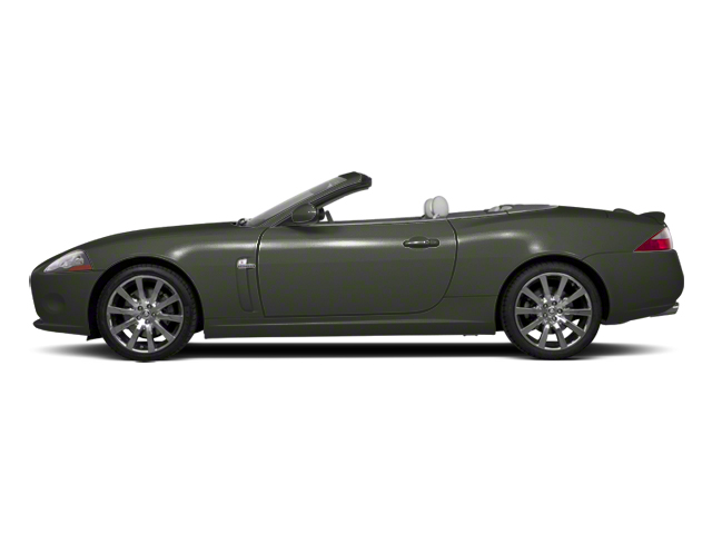 Taiga Green 2012 Jaguar XK Pictures XK Convertible XKR Supercharged photos side view
