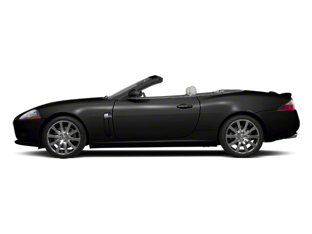 Ultimate Black 2012 Jaguar XK Pictures XK Convertible XKR Supercharged photos side view