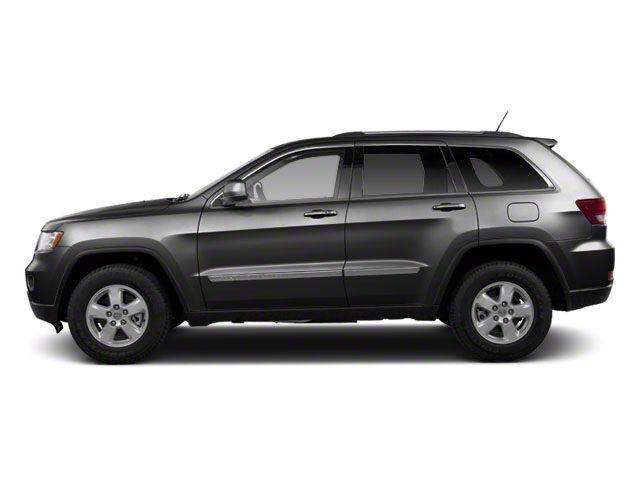 Maximum Steel Metallic 2012 Jeep Grand Cherokee Pictures Grand Cherokee Utility 4D Overland 4WD photos side view