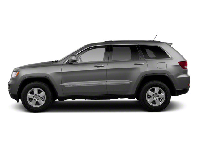 Mineral Gray Metallic 2012 Jeep Grand Cherokee Pictures Grand Cherokee Utility 4D Overland 4WD photos side view