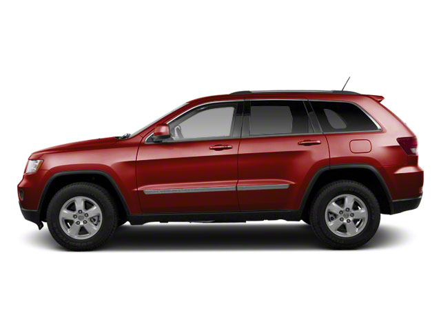 Deep Cherry Red Crystal Pearl 2012 Jeep Grand Cherokee Pictures Grand Cherokee Utility 4D Overland 4WD photos side view