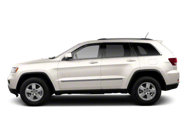 Stone White 2012 Jeep Grand Cherokee Pictures Grand Cherokee Utility 4D Overland 4WD photos side view
