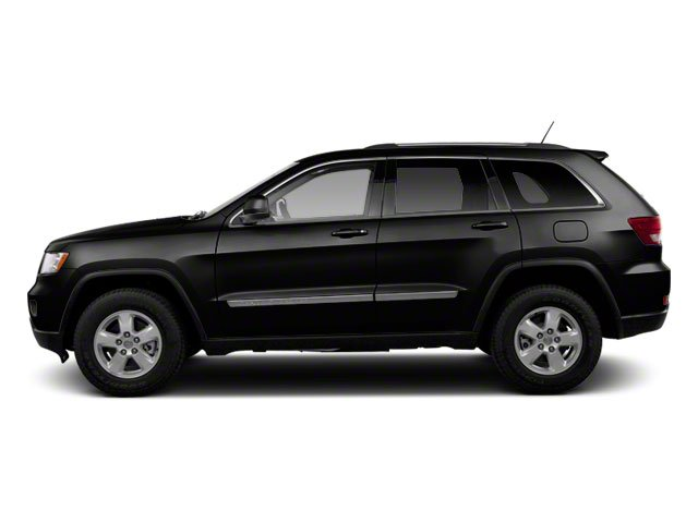 Brilliant Black Crystal Pearl 2012 Jeep Grand Cherokee Pictures Grand Cherokee Utility 4D Overland 4WD photos side view