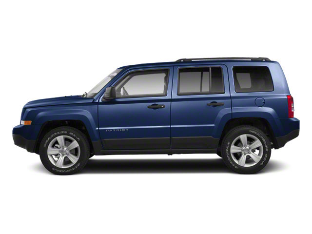 True Blue Pearl 2012 Jeep Patriot Pictures Patriot Utility 4D Limited 2WD photos side view