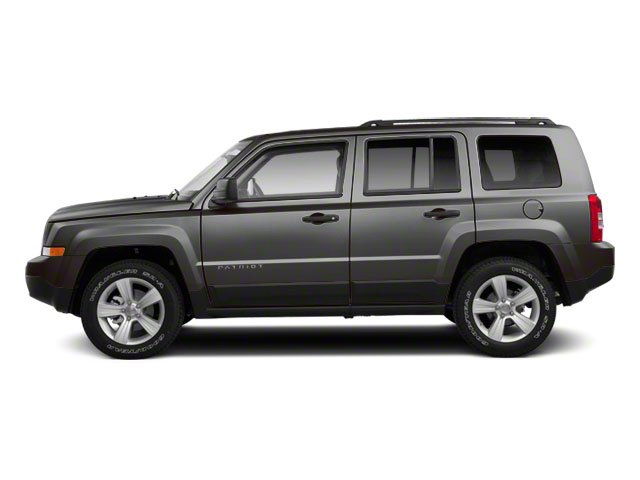 Mineral Gray Metallic 2012 Jeep Patriot Pictures Patriot Utility 4D Limited 2WD photos side view