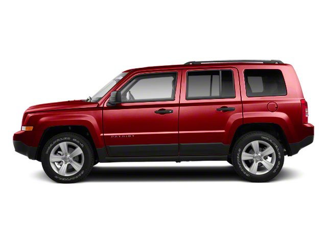 Deep Cherry Red Crystal Pearl 2012 Jeep Patriot Pictures Patriot Utility 4D Limited 2WD photos side view