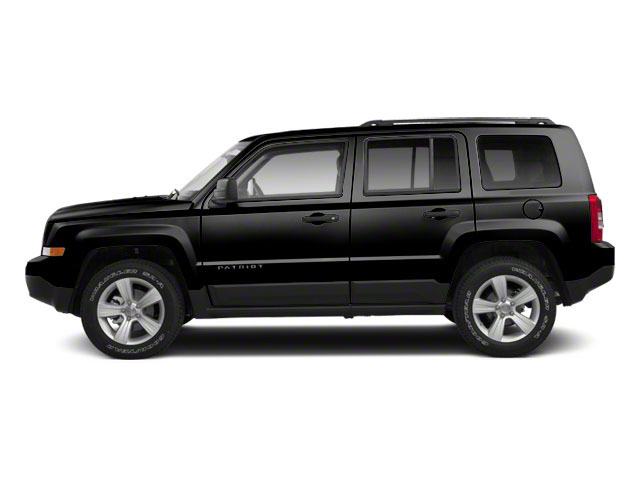 Black 2012 Jeep Patriot Pictures Patriot Utility 4D Limited 2WD photos side view