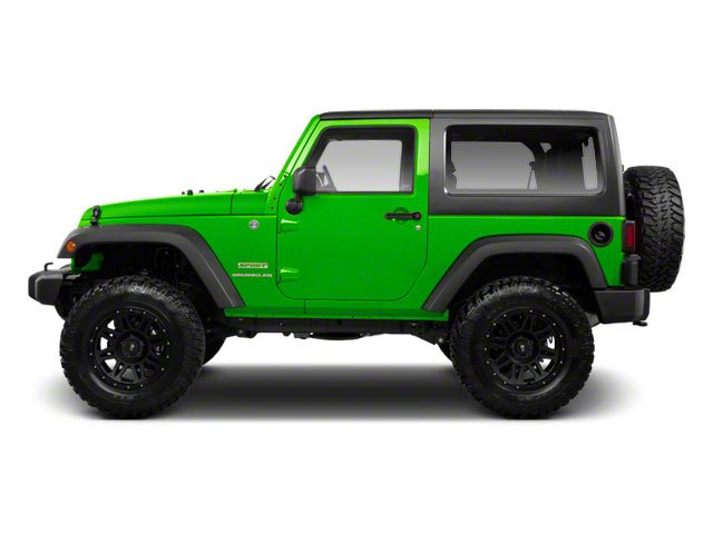 Gecko Pearl 2012 Jeep Wrangler Pictures Wrangler Utility 2D Sport 4WD photos side view
