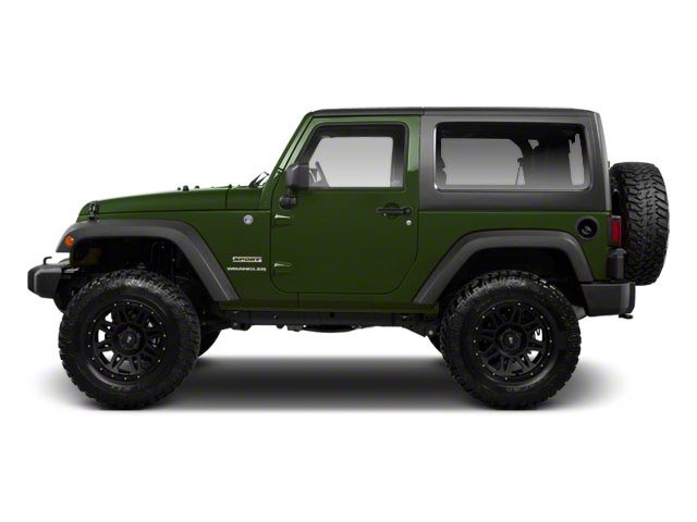 Natural Green Pearl 2012 Jeep Wrangler Pictures Wrangler Utility 2D Sport 4WD photos side view