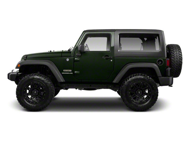 Black Forest Green Pearl 2012 Jeep Wrangler Pictures Wrangler Utility 2D Sport 4WD photos side view