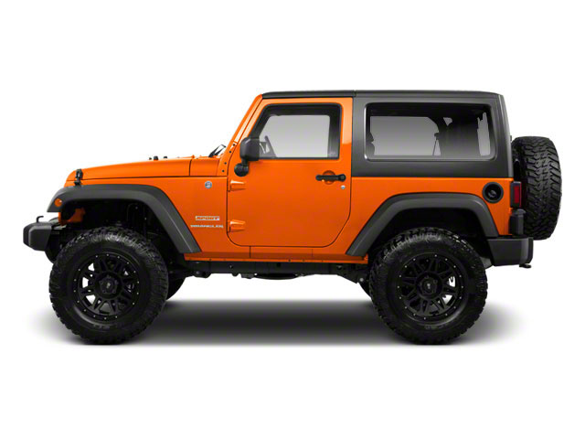 Crush 2012 Jeep Wrangler Pictures Wrangler Utility 2D Sport 4WD photos side view