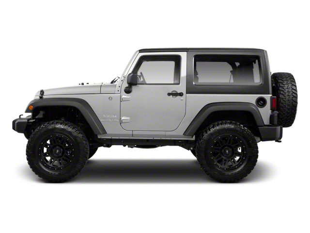 Bright Silver Metallic 2012 Jeep Wrangler Pictures Wrangler Utility 2D Sport 4WD photos side view
