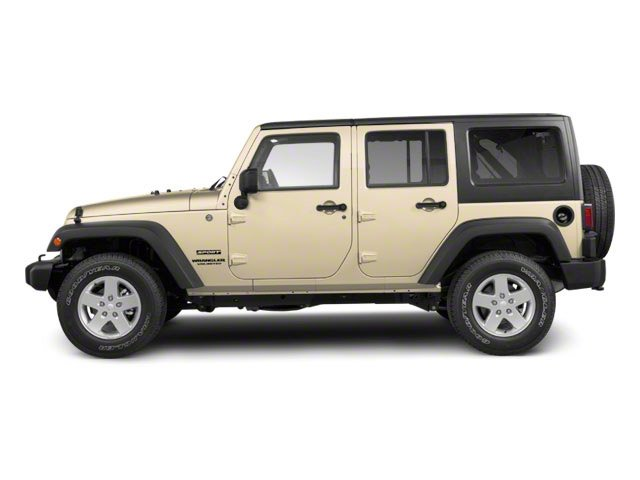 Sahara Tan 2012 Jeep Wrangler Unlimited Pictures Wrangler Unlimited Utility 4D Unlimited Sport 4WD photos side view