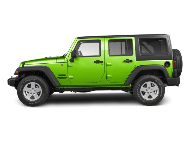 Gecko Pearl 2012 Jeep Wrangler Unlimited Pictures Wrangler Unlimited Utility 4D Unlimited Sport 4WD photos side view