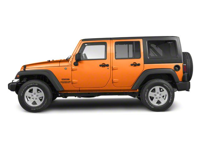 Crush 2012 Jeep Wrangler Unlimited Pictures Wrangler Unlimited Utility 4D Unlimited Sport 4WD photos side view