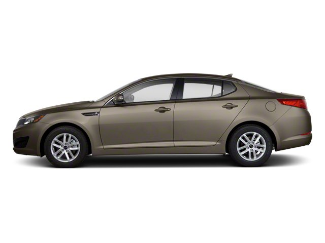 Metal Bronze 2012 Kia Optima Pictures Optima Sedan 4D LX photos side view