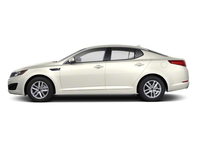 Snow White Pearl 2012 Kia Optima Pictures Optima Sedan 4D LX photos side view