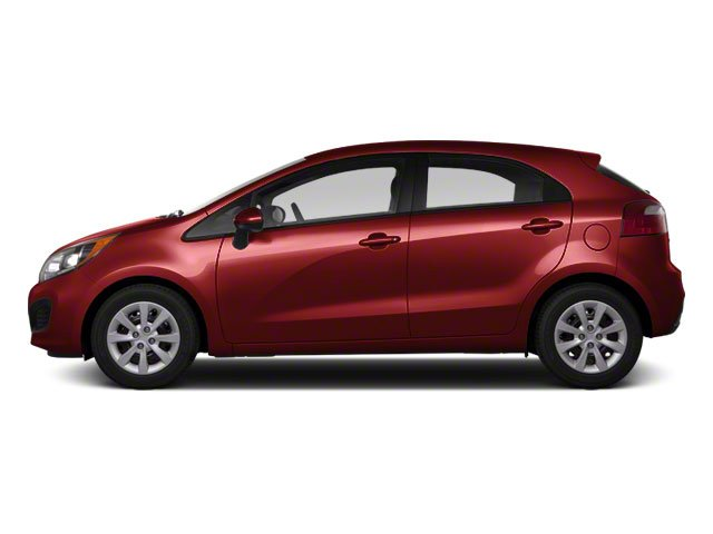 Signal Red 2012 Kia Rio Pictures Rio Hatchback 5D SX photos side view