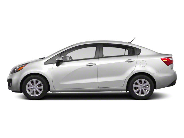 Clear White 2012 Kia Rio Pictures Rio Sedan 4D LX photos side view