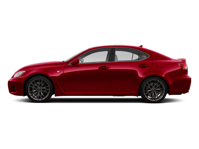 Matador Red Mica 2012 Lexus IS F Pictures IS F Sedan 4D IS-F photos side view