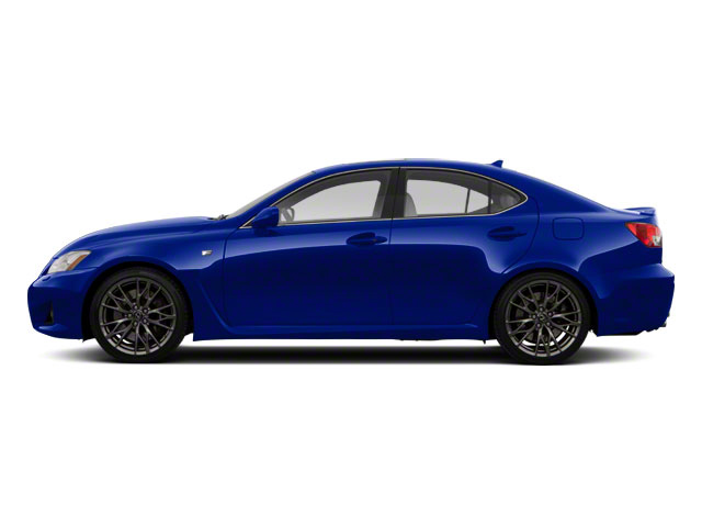 Ultrasonic Blue Mica 2012 Lexus IS F Pictures IS F Sedan 4D IS-F photos side view