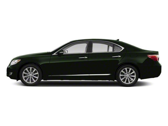Peridot Mica 2012 Lexus LS 460 Pictures LS 460 Sedan 4D LS460L photos side view