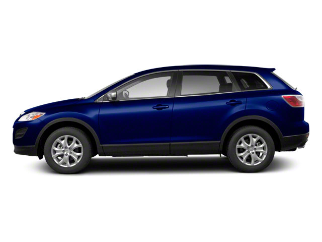 Stormy Blue Mica 2012 Mazda CX-9 Pictures CX-9 Utility 4D GT 2WD photos side view
