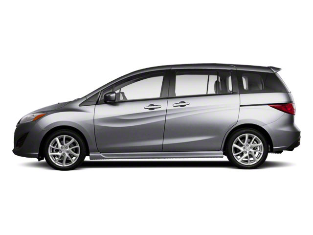 Liquid Silver Metallic 2012 Mazda Mazda5 Pictures Mazda5 Wagon 5D Touring photos side view
