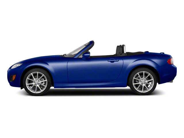 Stormy Blue Mica 2012 Mazda MX-5 Miata Pictures MX-5 Miata Hardtop 2D Touring photos side view