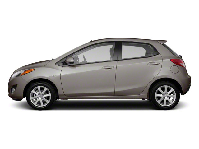 Liquid Silver Metallic 2012 Mazda Mazda2 Pictures Mazda2 Hatchback 5D Touring photos side view