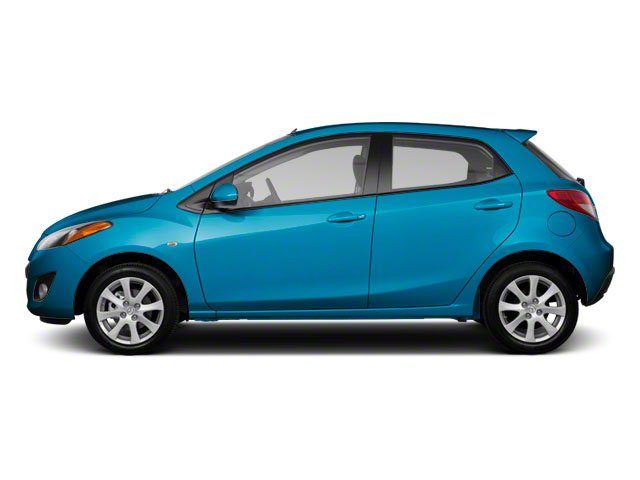 Aquatic Blue Mica 2012 Mazda Mazda2 Pictures Mazda2 Hatchback 5D photos side view