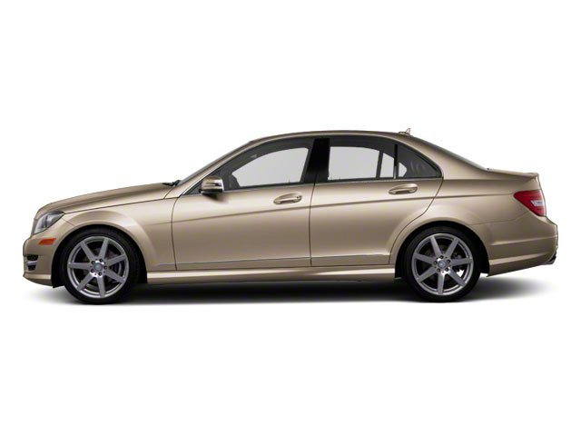 Pearl Beige Metallic 2012 Mercedes-Benz C-Class Pictures C-Class Sedan 4D C63 AMG photos side view