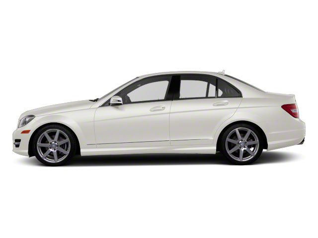 Diamond White Metallic 2012 Mercedes-Benz C-Class Pictures C-Class Sedan 4D C63 AMG photos side view