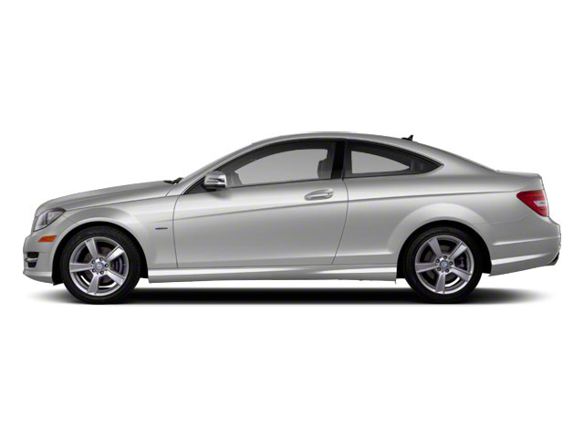 Iridium Silver Metallic 2012 Mercedes-Benz C-Class Pictures C-Class Coupe 2D C63 AMG photos side view