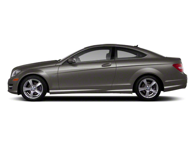 Palladium Silver Metallic 2012 Mercedes-Benz C-Class Pictures C-Class Coupe 2D C63 AMG photos side view