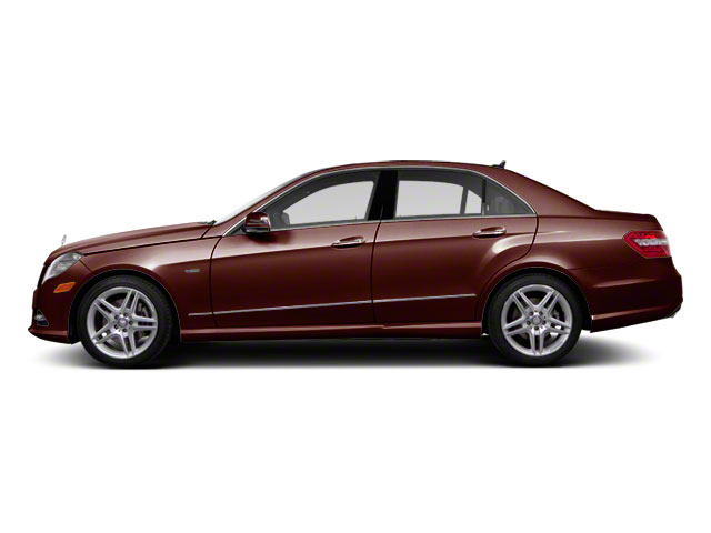 Cuprite Brown Metallic 2012 Mercedes-Benz E-Class Pictures E-Class Sedan 4D E550 AWD photos side view