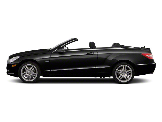 Black 2012 Mercedes-Benz E-Class Pictures E-Class Convertible 2D E350 photos side view